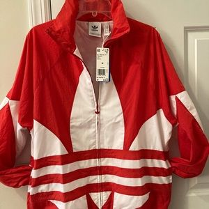 Adidas Jaket red